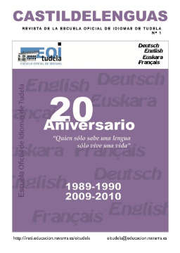 Revista Castildelenguas 2009