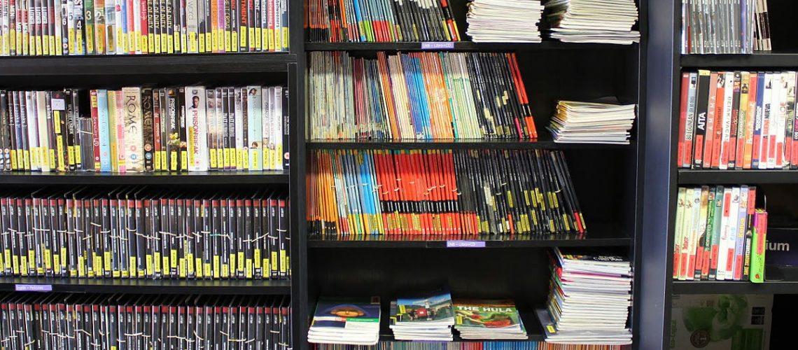Biblioteca-videoteca